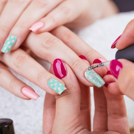 Try Shellac Nails in our Nail Salon.
