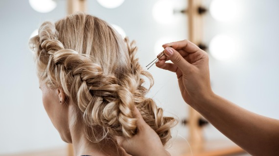 Lets make your special day one to remember with our hair salon services!