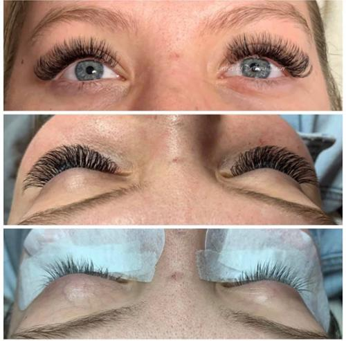 D Curl Volume Lashes by Brittany