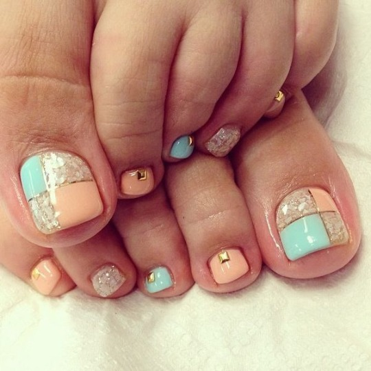 We offer over 500 colors to choose from in our nail salon for pedicures! We love doing nail art!